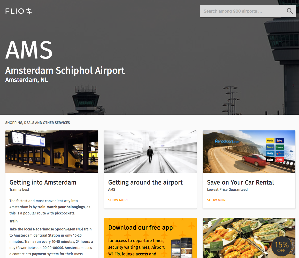FLIO seals joint agreement with Amsterdam Schiphol | Travel Retail