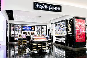 bc179345f7 YSL shows off 'modern, edgy good looks' in travel retail | Travel ...
