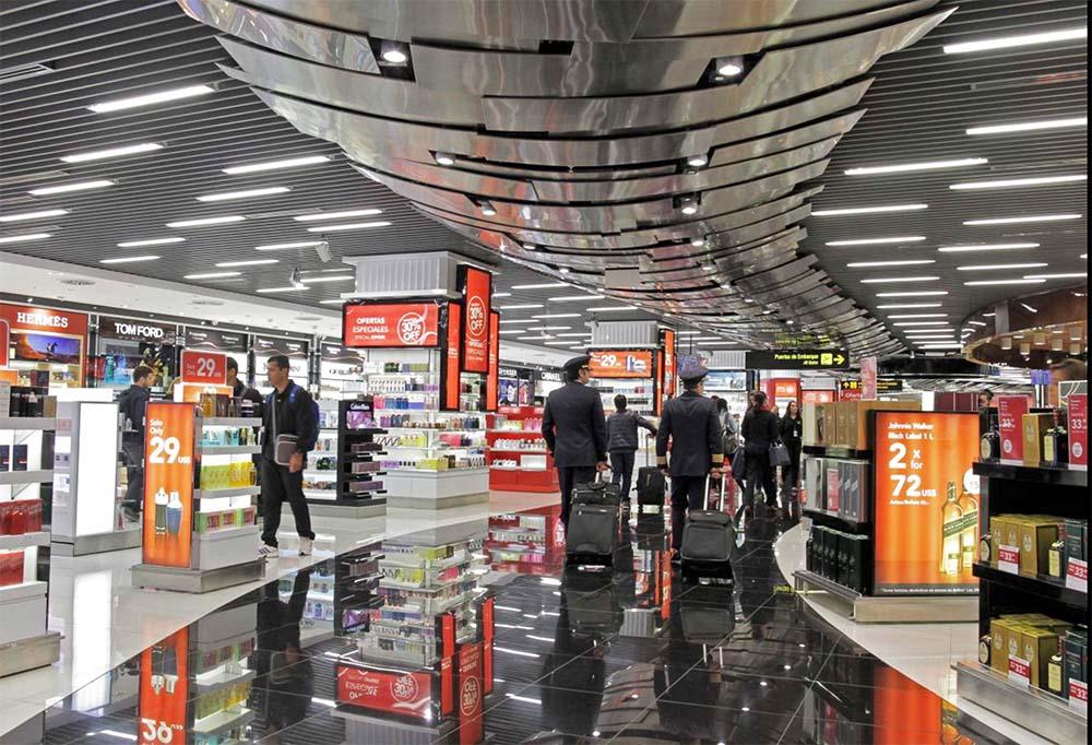 aeropuerto de peru lima free shop