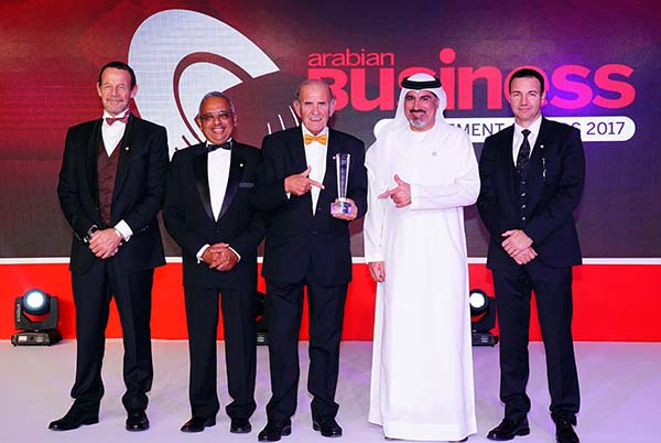 DDF's McLoughlin receives new Arabian Business Award