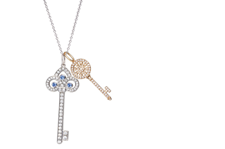 Dfs announces travel retail exclusive tiffany collection travel the exclusive tiffany collection for dfs and t galleria stores features four new tiffany key pendants aloadofball Gallery