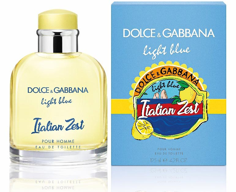 Zesty  Calabrian lemons infuse new D G scent   Travel Retail Business 1f49f32f0a