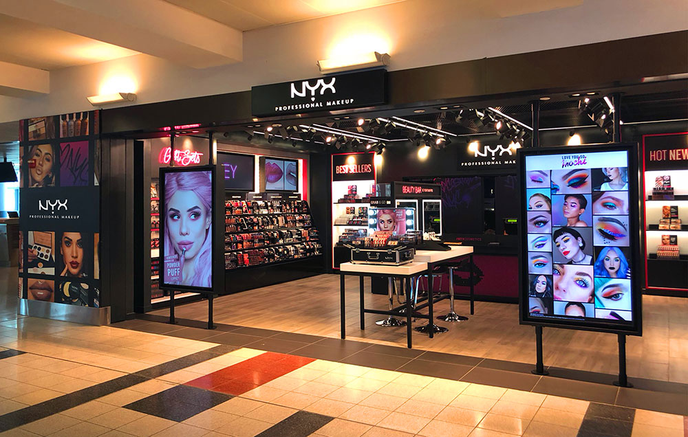 DFS and L'Oréal open first NYX airport store at JFK   Travel