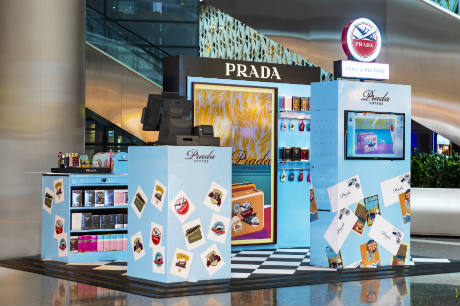 722d15a15f QDF boosts retail experience with Prada Voyage podium | Travel ...