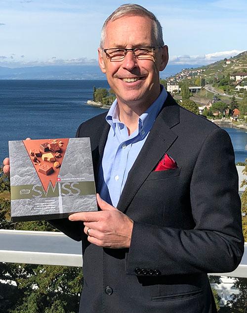 ستيوارت Dryburgh، -General-مدير -Nestlé الدولية-السفر-التجزئة 2018