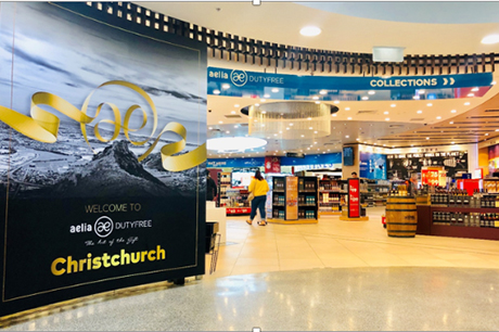New Aelia Duty Free shops open in Christchurch Airport   Travel ... 7d9d2eddac