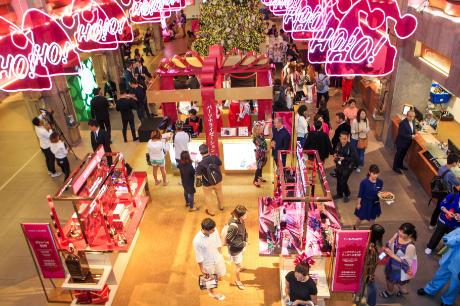 3100cba6aa8c DFS in festive mood   gives joy  at T Galleria Okinawa