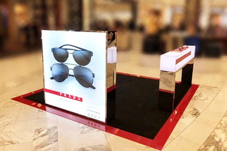 3cb997844cf9 Prada-Linea-Rossa-lead. The launch is supported by dedicated in-store  activations. Luxottica Group ...