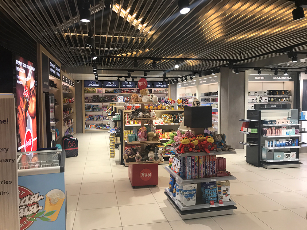 RegStaer opens first arrivals duty free store at Vnukovo