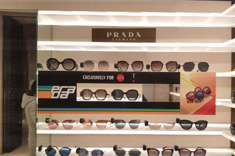 1ab19be3f63e Prada eyewear gets exclusive treatment with DFS Luxottica