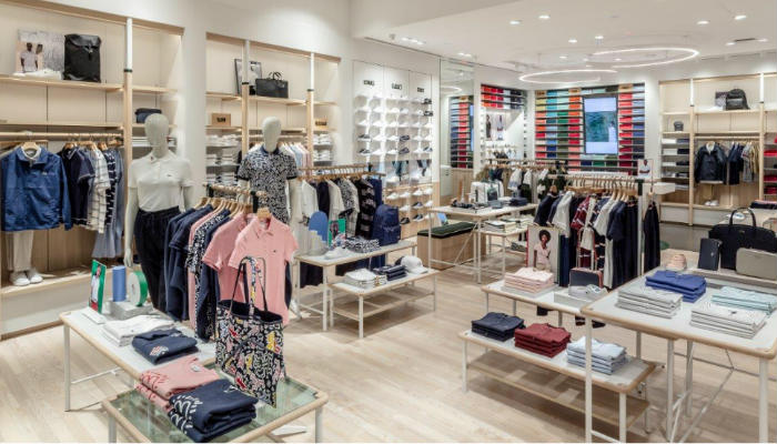 separation shoes ddf7a 8583d Lacoste showcases 130sq m store at Jewel Changi Airport ...