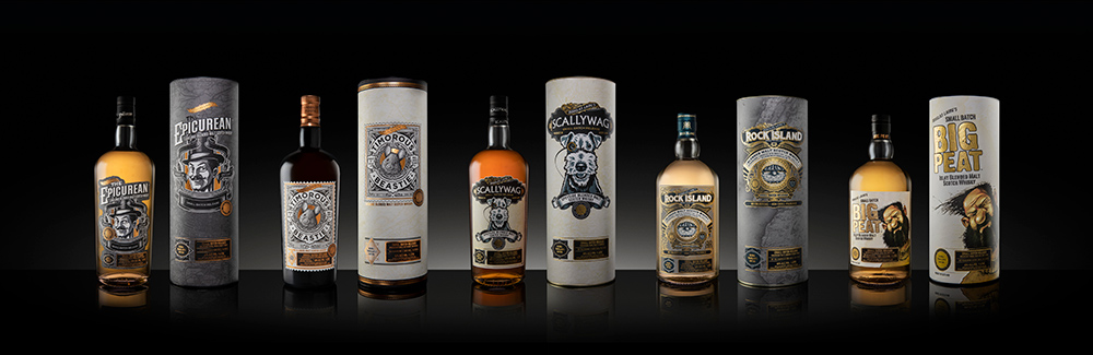 Remarkable Regional Malts collection, Douglas Laing,jpg