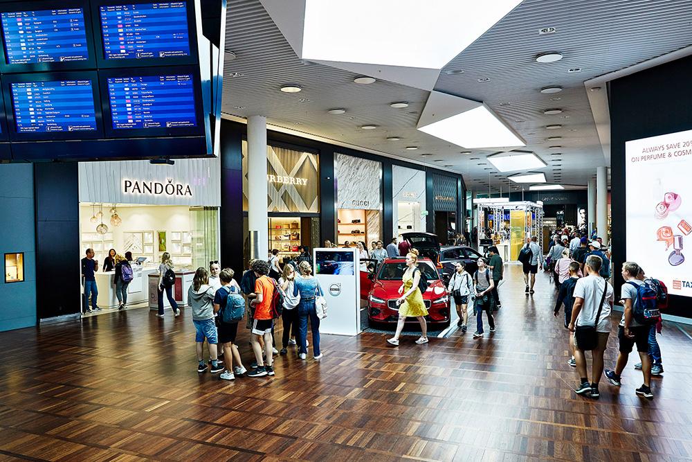 Lufthavn shop kastrup Parkering København