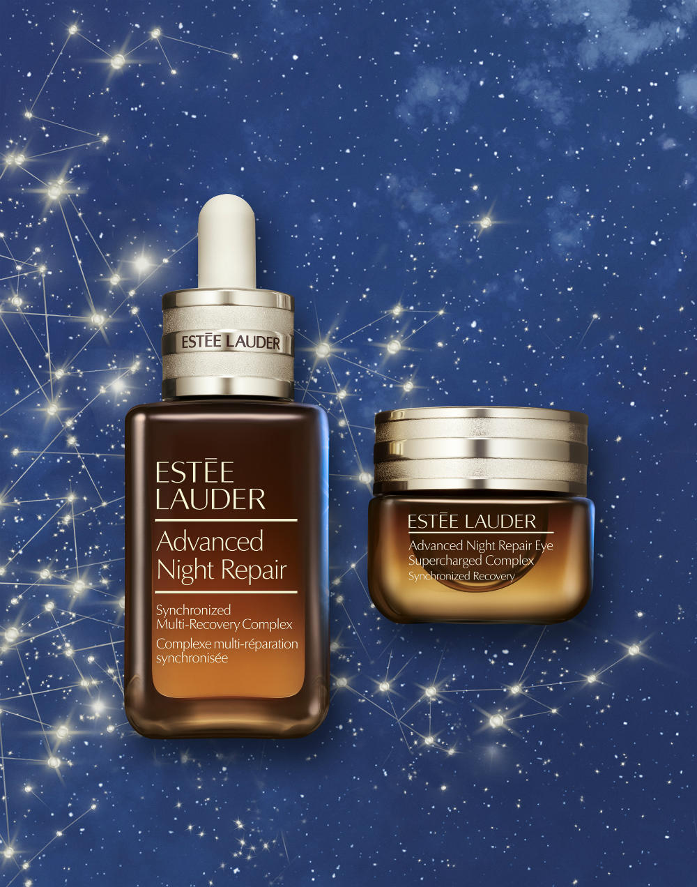 ANR Face Serum and Eye Supercharged Complex Set 3